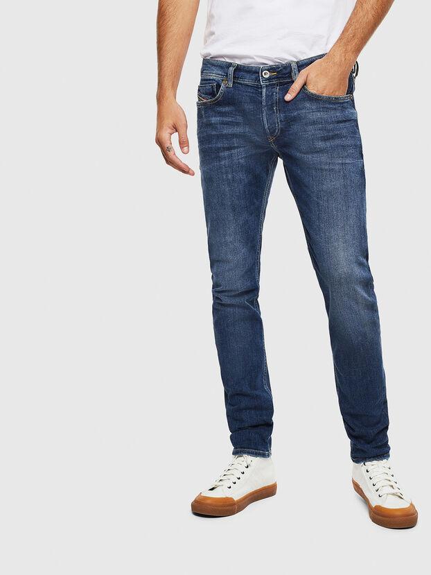 Sleenker 0095F, Dunkelblau - Jeans