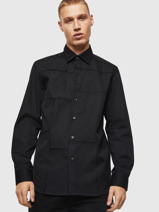 S-AUDREY, Schwarz - Hemden