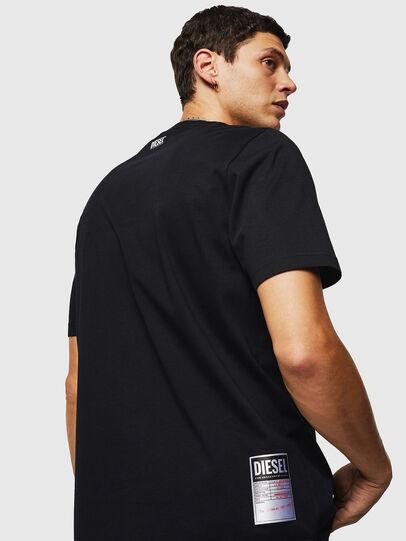 Diesel - T-JUST-B26, Schwarz - T-Shirts - Image 2