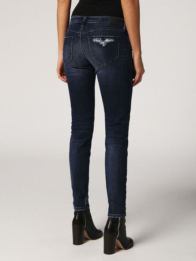 GRACEY 0687E, Jeansblau