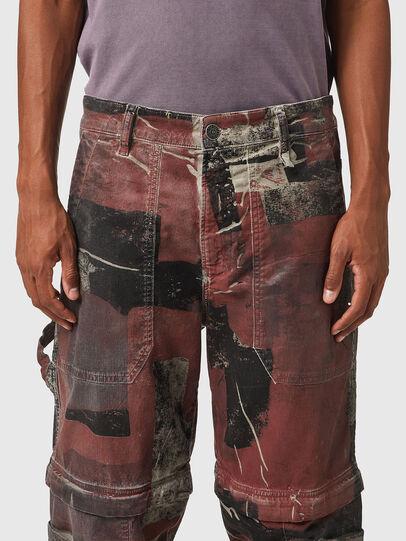 Diesel - D-Multy JoggJeans® 0CEAM, Rosa/Schwarz - Jeans - Image 3