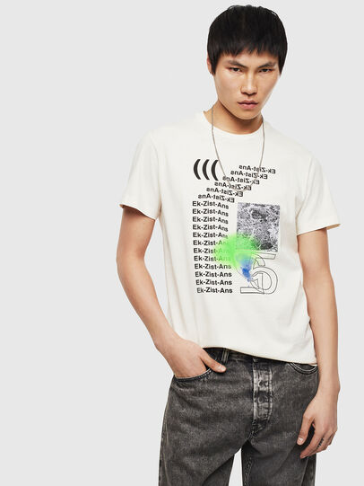 Diesel - T-DIEGO-S11, Weiß - T-Shirts - Image 4