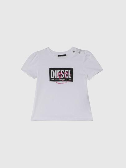 Diesel - TRIDGEB, Weiß - T-Shirts und Tops - Image 1