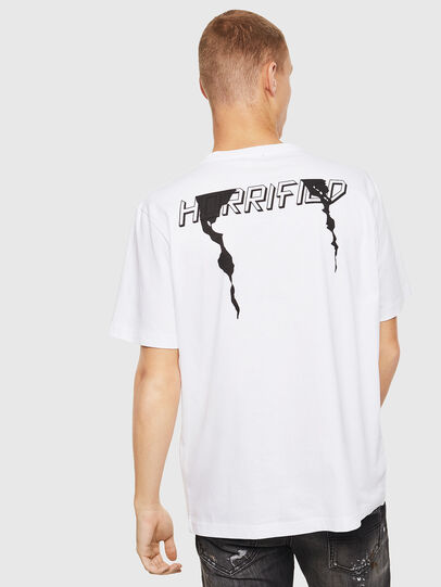 Diesel - T-JUST-J21, Weiß - T-Shirts - Image 2