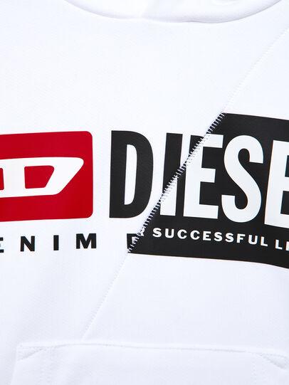 Diesel - SGIRKHOODCUTY OVER, Weiß - Sweatshirts - Image 3