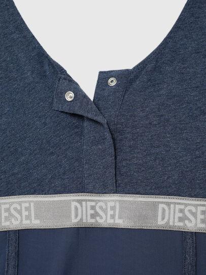 Diesel - UFTEE-TOPCUT-DN, Blau - T-Shirts - Image 4