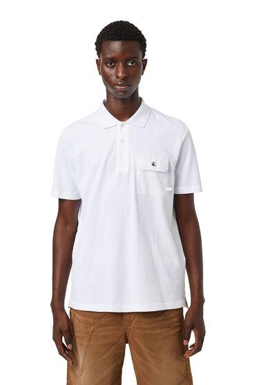 Polo-Shirt mit Klappentasche