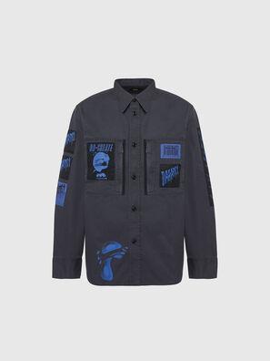 S-MARCUS, Dunkelgrau - Hemden
