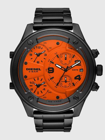 Diesel - DZ7432, Schwarz/Orange - Uhren - Image 1