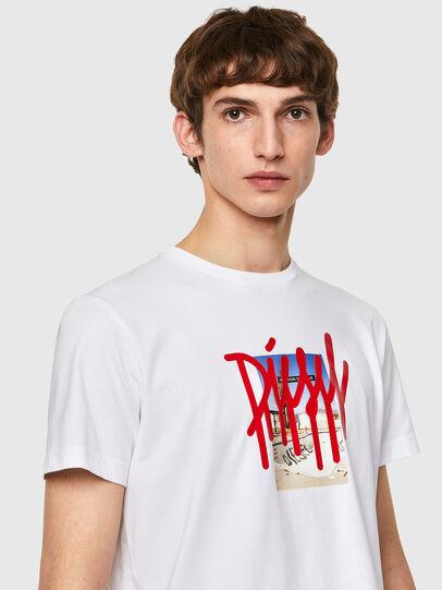 Diesel - T-DIEGOS-B9, Weiß - T-Shirts - Image 3