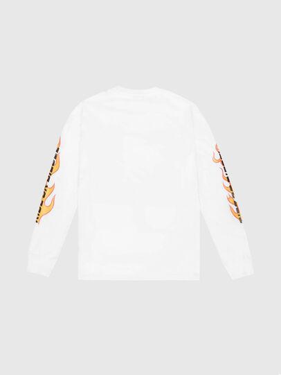 Diesel - US-T-JUST-LS-POP-MAR, Weiß - T-Shirts - Image 2