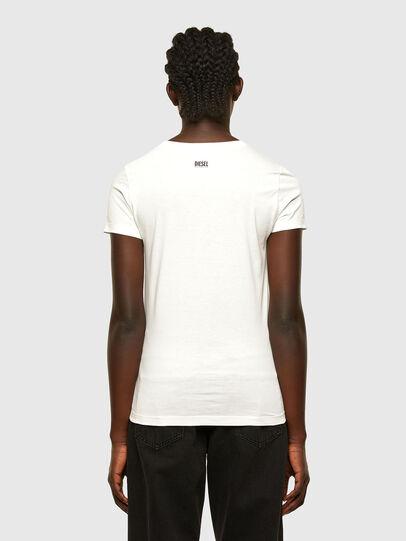 Diesel - T-SOAL-R1, Weiß - T-Shirts - Image 2