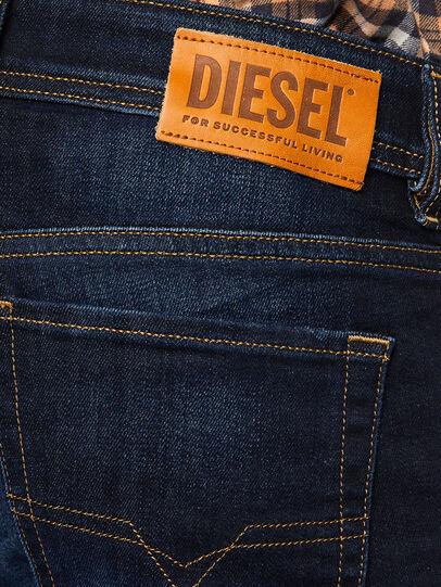 Diesel - Sleenker 009EY, Dunkelblau - Jeans - Image 5
