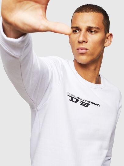 Diesel - UMLT-WILLY, Weiß - Sweatshirts - Image 4
