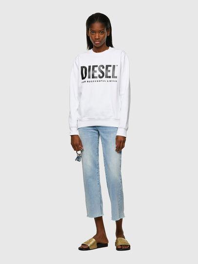 Diesel - F-ANGS-ECOLOGO, Schwarz/Weiss - Sweatshirts - Image 4