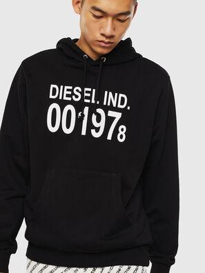 S-GIRK-HOOD, Schwarz - Sweatshirts