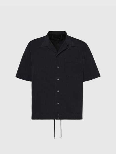 Diesel - S-MOOL-A, Schwarz - Hemden - Image 1