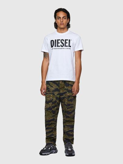 Diesel - T-DIEGOS-ECOLOGO, Weiß - T-Shirts - Image 4