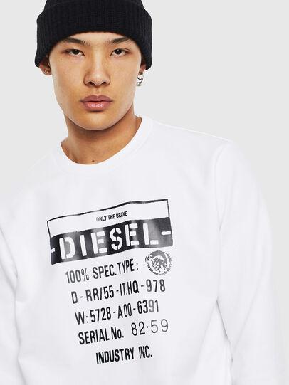 Diesel - S-GIRK-S3, Weiß - Sweatshirts - Image 5