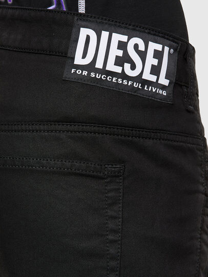 Diesel - Fayza JoggJeans 069NC, Schwarz/Dunkelgrau - Jeans - Image 4