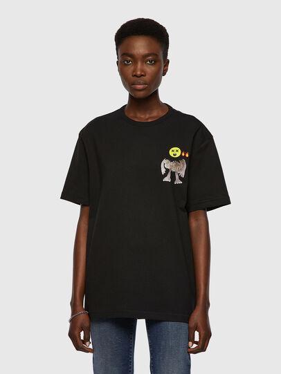 Diesel - T-BOYISH, Schwarz - T-Shirts - Image 1