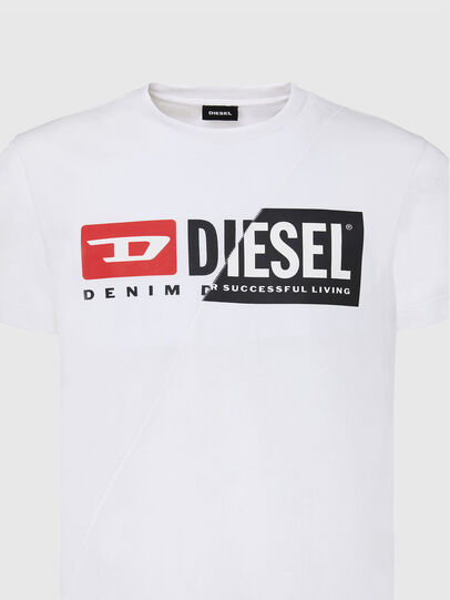 Diesel - T-DIEGO-CUTY, Weiß - T-Shirts - Image 3