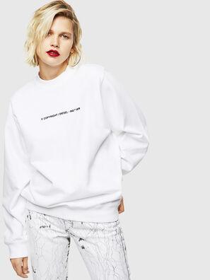 F-ANG-COPY, Weiß - Sweatshirts