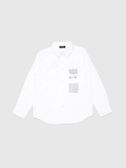 Diesel - CSVENPRINT, Weiß - Hemden - Image 1
