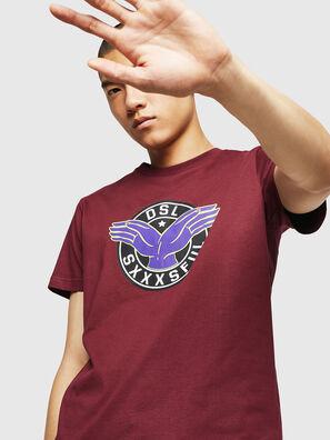 T-DIEGO-B5, Bordeauxrot - T-Shirts