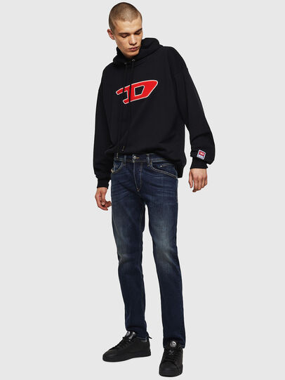 Diesel - Belther 0814W, Dunkelblau - Jeans - Image 6