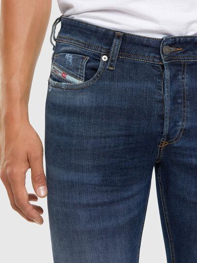Diesel - Sleenker 009DK, Dunkelblau - Jeans - Image 3
