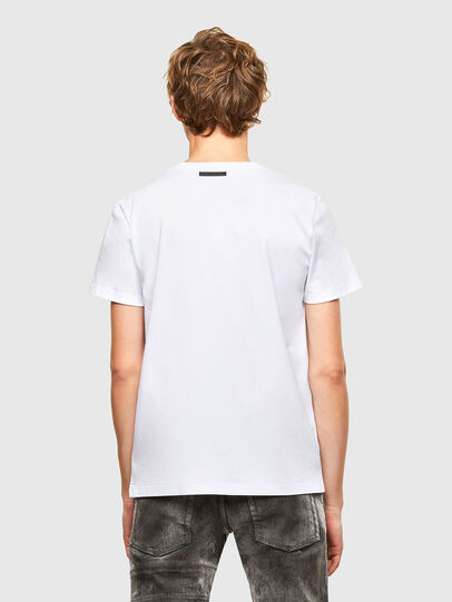 Diesel - T-INO, Weiß - T-Shirts - Image 2