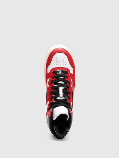 Diesel - S-UKIYO MID, Rot/Weiss - Sneakers - Image 4