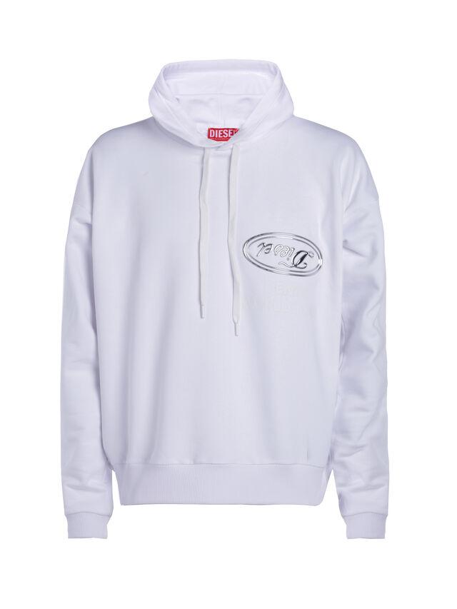 Diesel - SOSW01, Weiß - Sweatshirts - Image 1