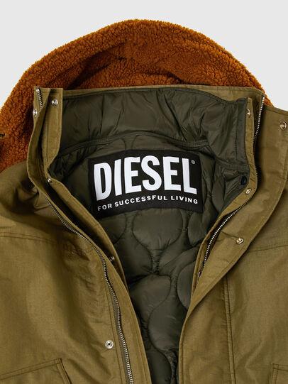 Diesel - W-STEVE, Armeegrün - Winterjacken - Image 4
