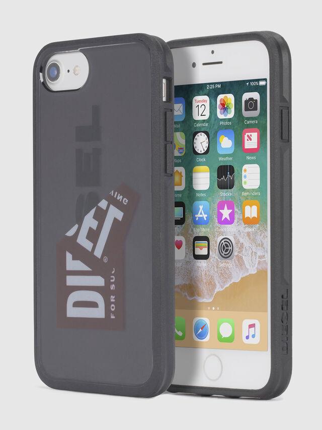 Diesel STICKER IPHONE 8/7/6S/6 CASE, Schwarz - Schutzhüllen - Image 1