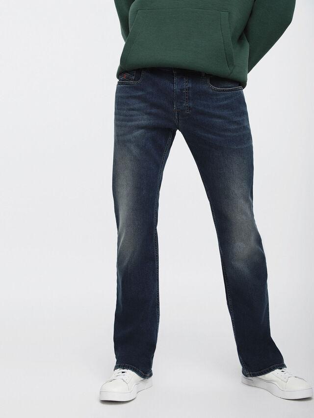 Diesel - Zatiny 084BU, Dunkelblau - Jeans - Image 1