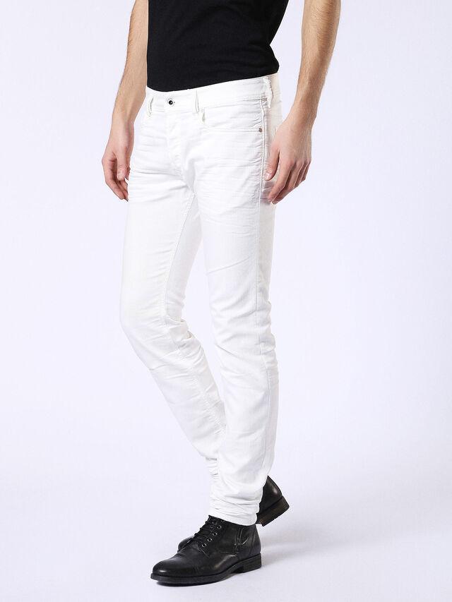 Diesel - Sleenker 084CY, Weiß - Jeans - Image 4