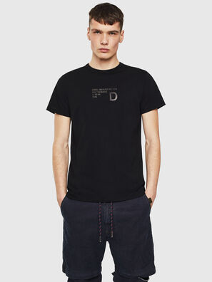 T-DIEGO-S5, Schwarz - T-Shirts
