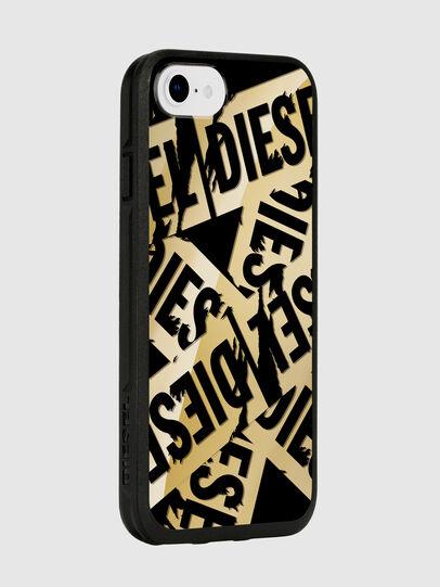 Diesel - MULTI TAPE GOLD/BLACK IPHONE 8/7/6S/6 CASE, Gold - Schutzhüllen - Image 6