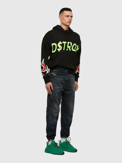 Diesel - D-Skint JoggJeans 069PE, Dunkelblau - Jeans - Image 7