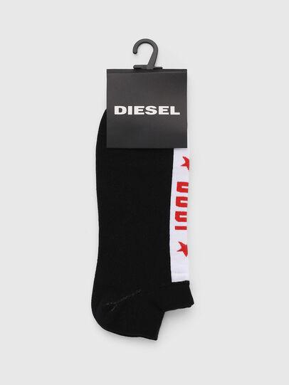 Diesel - SKM-GOST, Schwarz - Kurze Socken - Image 2