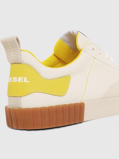 Diesel - S-BULLY LC, Weiß/Gelb - Sneakers - Image 4