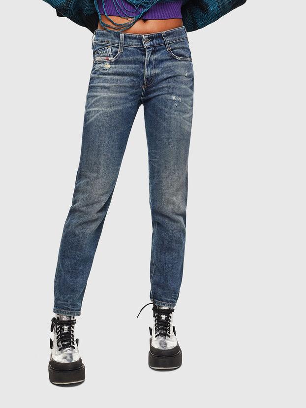 D-Rifty 0890Y, Mittelblau - Jeans