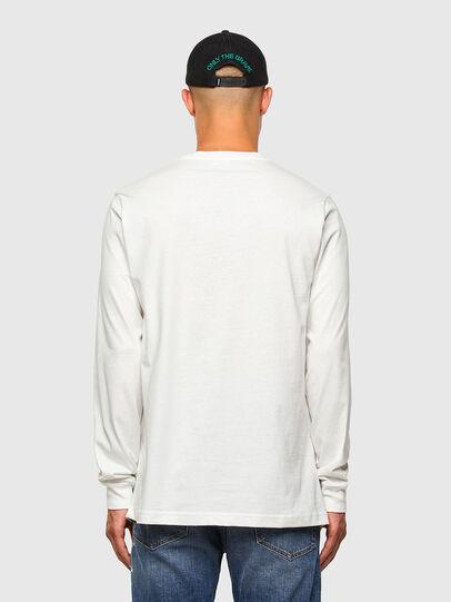 Diesel - T-JUST-LS-MOHI, Weiß - T-Shirts - Image 5