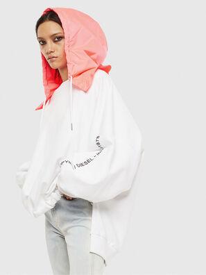 F-JUSTIN, Weiß - Sweatshirts