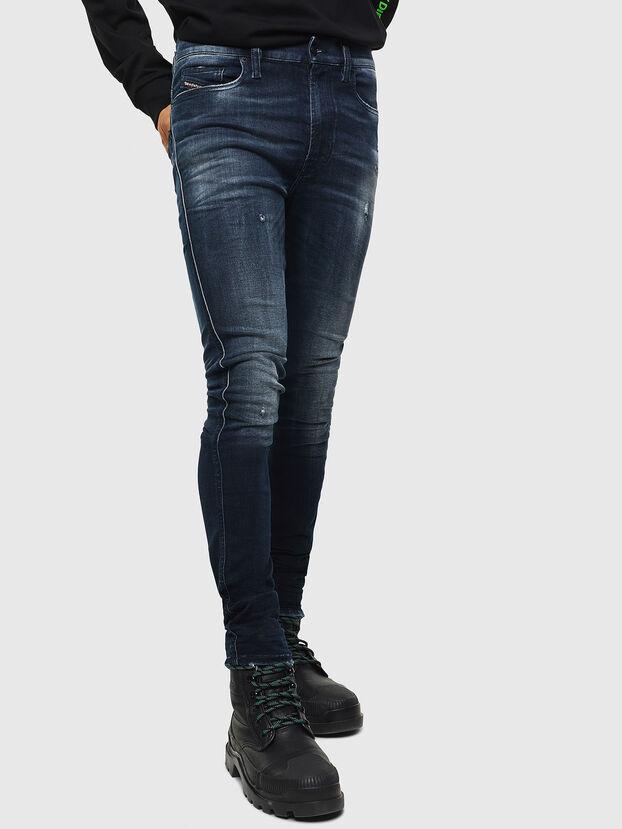 D-Istort 0098R, Dunkelblau - Jeans