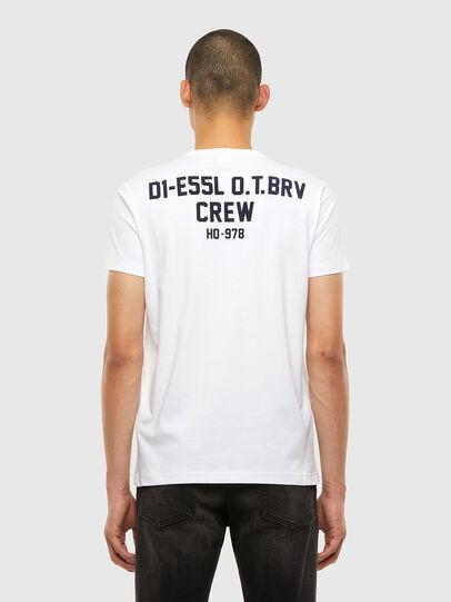 Diesel - T-DIEGOS-N26, Weiß - T-Shirts - Image 2
