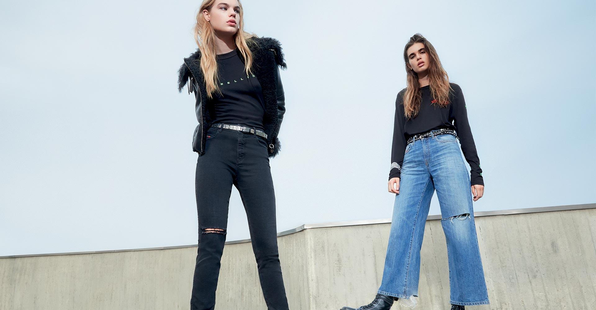 Diesel Neuheiten Jeans Für Damen
