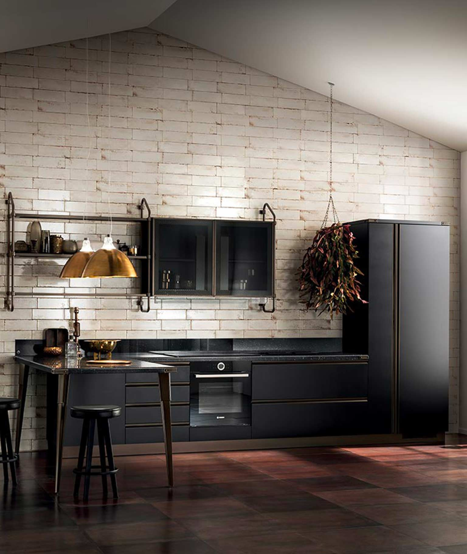 Diesel Living: Kitchen with Scavolini